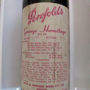 Penfolds Grange 1975
